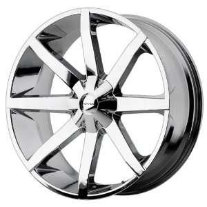 26x10 KMC Slide (Chrome) Wheels/Rims 6x135/139.7 (KM65126067228)
