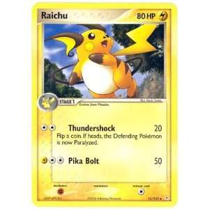 Pokemon   Raichu (51)   EX Holon Phantoms   Reverse