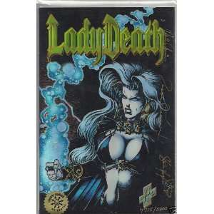 Lady Death Between Heaven & Hell #1 Chromium Refractor