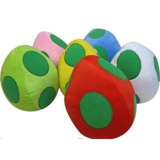 SUPERMARIOBROS Super Mario Blue Yoshi Egg Plush Toys & Games