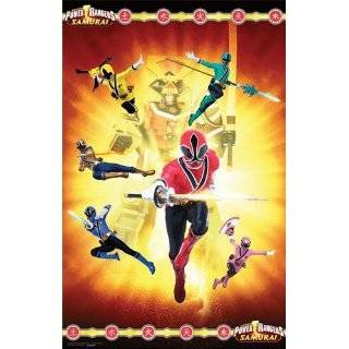 Power Rangers Samurai   Paper Tablecover Party Accessory