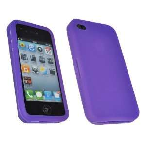 Mobile Palace  Purple silicone skin case cover pouch holster for