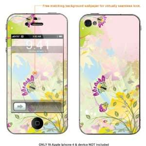 Skin Sticker for AT&T & Verizon Apple Iphone 4 case cover iphone4 10