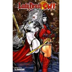 Lady Death Shi Preview (Ryp Cover): Brian Pulido:  Books
