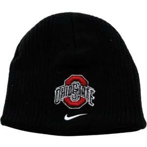 Nike Ohio State Buckeyes Infant Black Team Beanie Sports