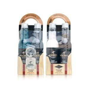 Woodys Quality Grooming Holiday Cheer Shampoo, Conditioner, Mega Firm