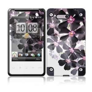 HTC HD Mini Skin Decal Sticker   Asian Flower Paint