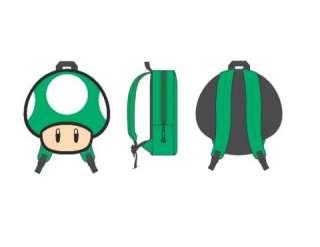Backpack NINTENDO Super Mario BAG 1Up Green Mushroom
