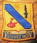 14th ARMORED CAV RGT/ACR SUIVEZ MOI AIR FORCE UNIFORM PATCH