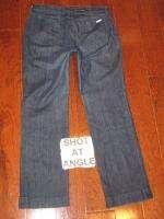 David Kahn Jeans Full Leg Straight Leg Dark Sz 31   32