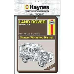 Land Rover Manual Air Freshener