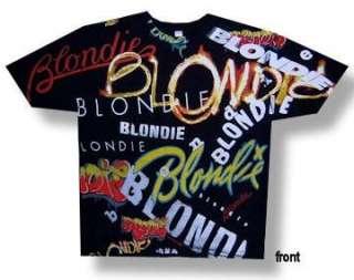 BLONDIE Debbie Harry NEW WAVE POP PUNK ROCK T SHIRT New