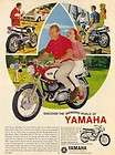 1967 YAMAHA BIG BEAR 305 (YM2 C) MOTORCYCLE GUY GIRL AD