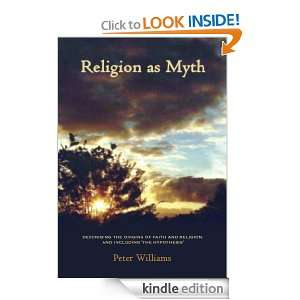faith and religion, and including The Hypothesis Peter Williams