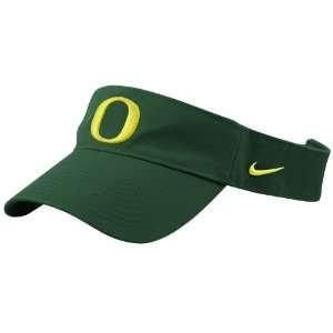 Nike Oregon Ducks Green Stadium Adjustable Visor: Sports