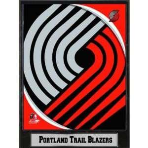 2011 Portland Trail Blazers 9x12 Logo Plaque Case Pack 14