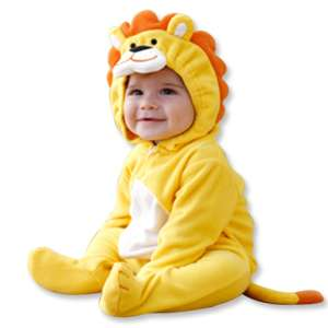 Made in Korea Lion Character Baby Boy Girl Infant Clothing / ANM 004