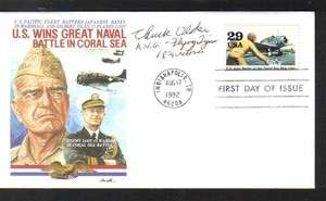 World War II Ace Chuck Older signed FDC First Day Cover AVG Flying