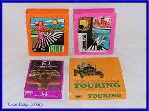 VINTAGE PLAYING CARD GAME SETS ~Hoyle & Parker Brothers