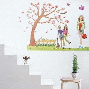 Barbie  Large Wall Decals Stickers Appliques Home Decor