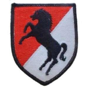 U.S. Army 11th Armored Cavalry Regiment Red & Black 3