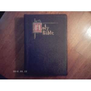 SAINT JOSEPH NEW CATHOLIC EDITION OF THE HOLY BIBLE