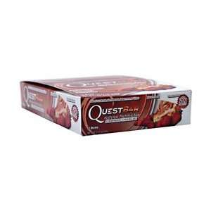 Quest Nutrition Quest Natural Protein Bar   Strawberry Cheesecake   12