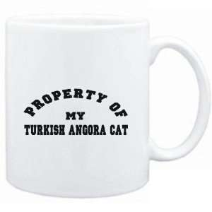 Mug White  PROPERTY OF MY Turkish Angora  Cats