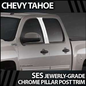 2007 2012 Chevy Tahoe/Suburban 4pc. SES Chrome Pillar Trim