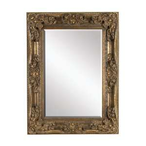 Large Charismatic Wood Wall Mirror