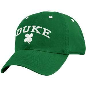 Top of the World Duke Blue Devils Kelly Green Irish Arch Adjustable