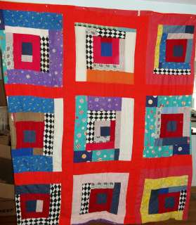 Antique African American quilt, Southern United States 1940s