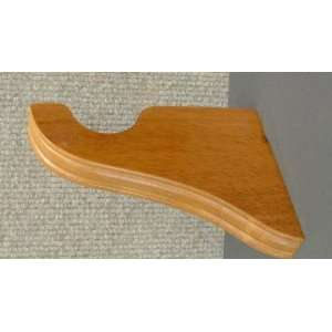 ***CLOSEOUT*** Support Bracket in Warm Oak finish for a 1