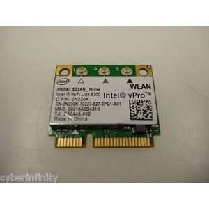 Dell Latitude E6500 Laptop Wireless Lan Card Wlan Intel Model # 533an