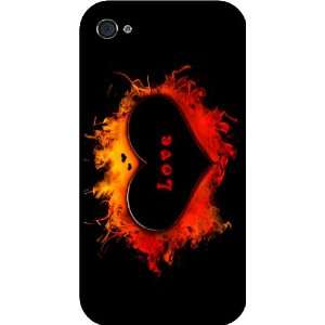 Design Rubber Black iphone Case (with bumper) Cover for Apple iPhone
