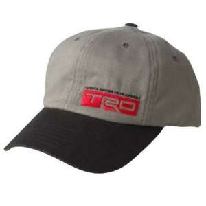 Toyota TRD Gray Baseball Cap Automotive