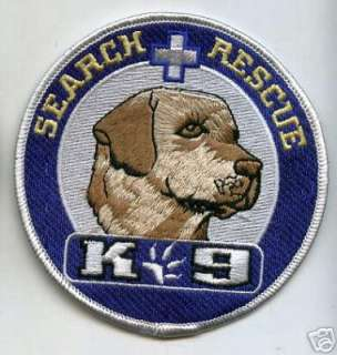 MP SWAT POLICE LABORADOR SEARCH RESCUE CANINE K 9 PATCH