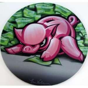 Custom Mousepad Mine Designed By Graffiti and Pop Art Artist Erni