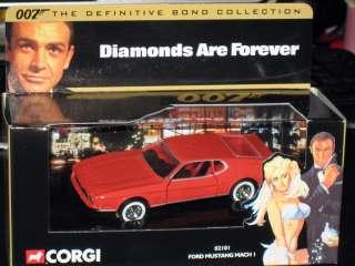 Corgi Ford Mustang March I James Bond 007 Movie MIB |