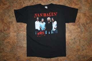VAN HALEN Tour 2004 Authentic Concert Tee Large NWT