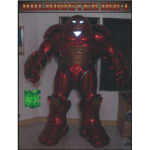 Stark armor statue rendition for Iron Man Hulk Buster