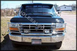 82 90 Chevy Blazer S10 Pickup Grill Bumper Brush Guard