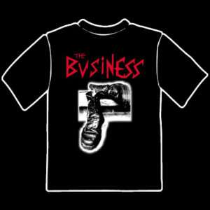 The Business Boots T Shirt Oi Punk Skinhead
