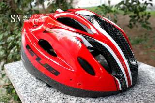 New Cycling Bicycle Bike Road BMX Helmet + LED light