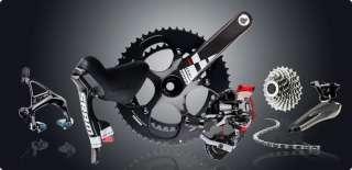 BICYCLE TT/TIME TRIAL/CARBON FRAMESET ROAD BIKE SRAM FORCE 54CM