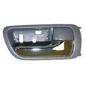 02 05 TOYOTA CAMRY FRONT DOOR HANDLE RH (PASSENGER SIDE), Inside, Gray