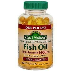 Fish Oil Triple Strength 1400 Mg