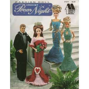Fashion Doll Crochet Prom Night (Annies Attic # 87D79) Books