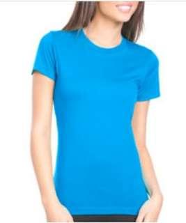 NL Ladies Boyfriend Crew Neck Tee Shirt Any CLR/SZ