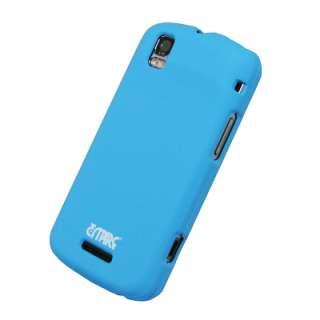 for Motorola Droid PRO Rubberized Case Cover, Light Blue 729440669560